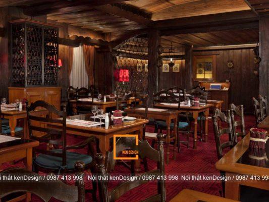 thiet ke nha hang dac trung phong cach chau au 2 533x400 - Thiết kế nhà hàng đặc trưng phong cách châu Âu