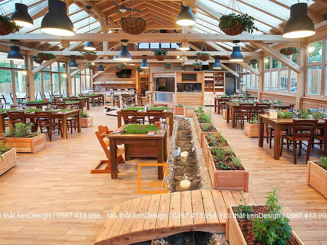 thiet ke nha hang dep hon voi khong gian xanh ban da thu chua 1 - Thiết kế nhà hàng đẹp hơn với không gian xanh, bạn đã thử chưa?