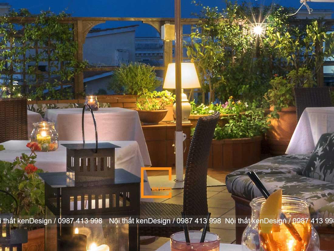 thiet ke nha hang khach san phong cach san vuon 3 - Thiết kế nhà hàng khách sạn phong cách sân vườn