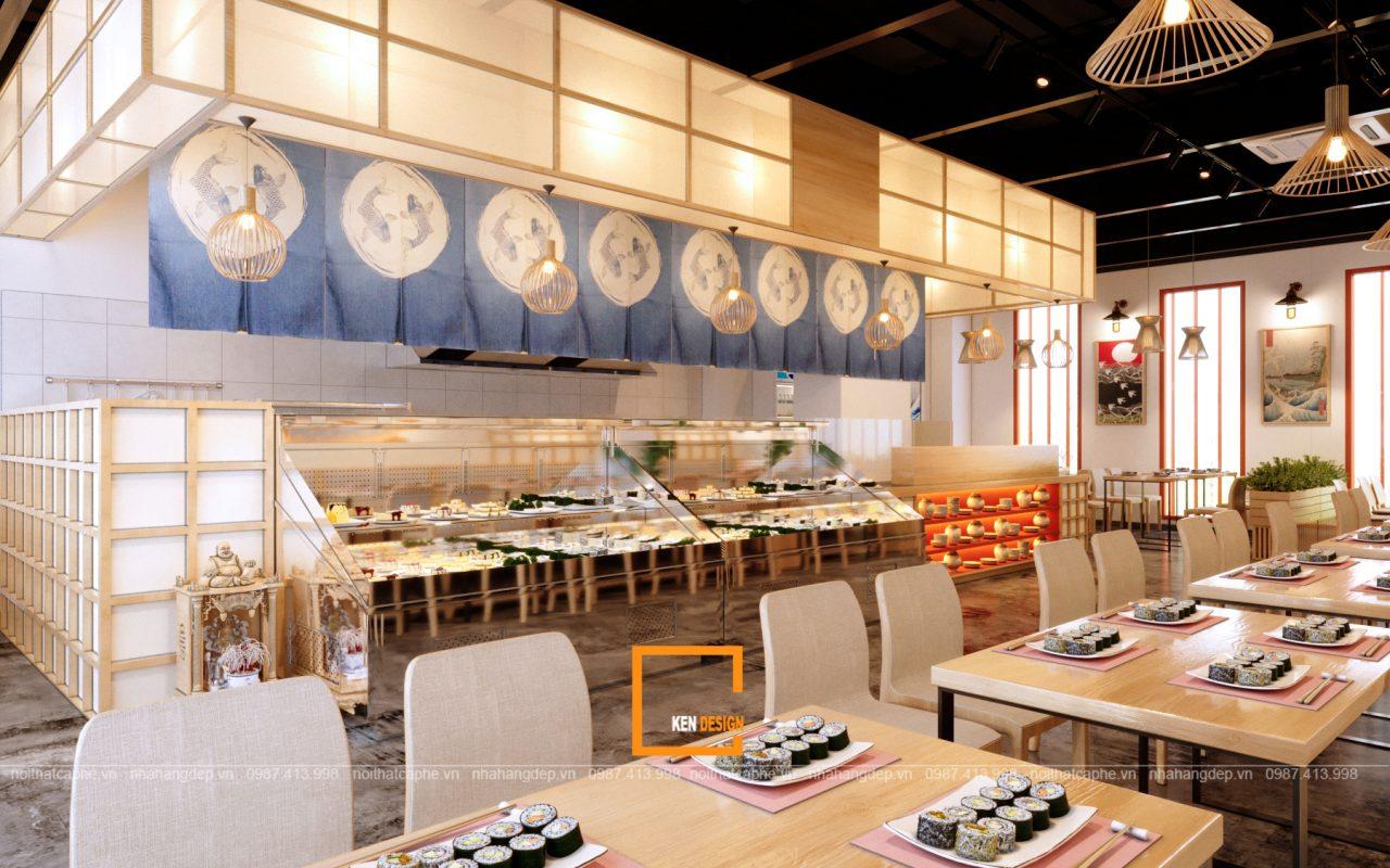 thiet ke nha hang sekai sushi cua anh long tại vung tau 9 1280x800 - Thiết kế nhà hàng SeKai Sushi độc đáo tại Vũng Tàu