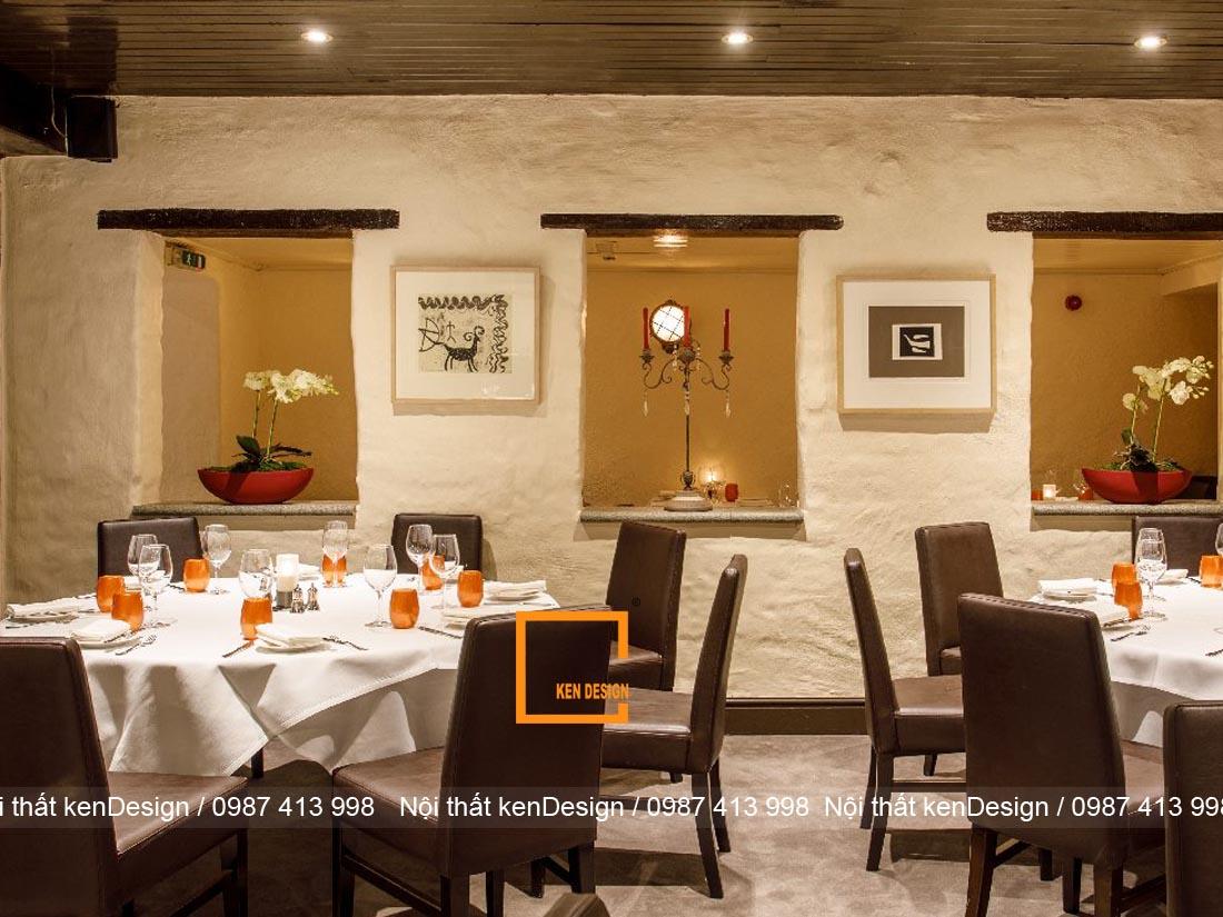 Tiêu chí đánh giá thiết kế nhà hàng hiện đại cao cấp