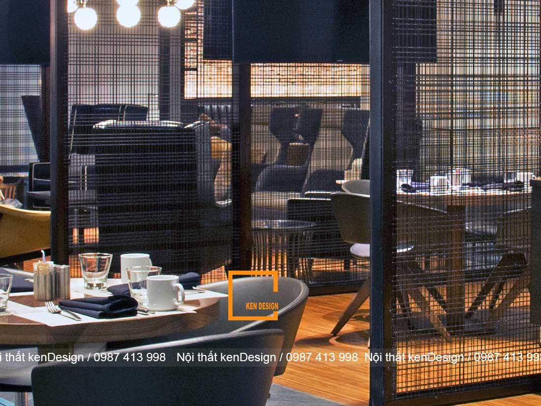 tieu chuan thiet ke nha hang khung thep 2 - Tiêu chuẩn khi thiết kế nhà hàng khung thép