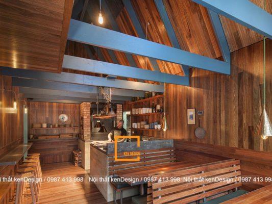 uu diem khi thiet ke nha hang bang go 6 533x400 - Ưu điểm khi thiết kế nhà hàng bằng gỗ
