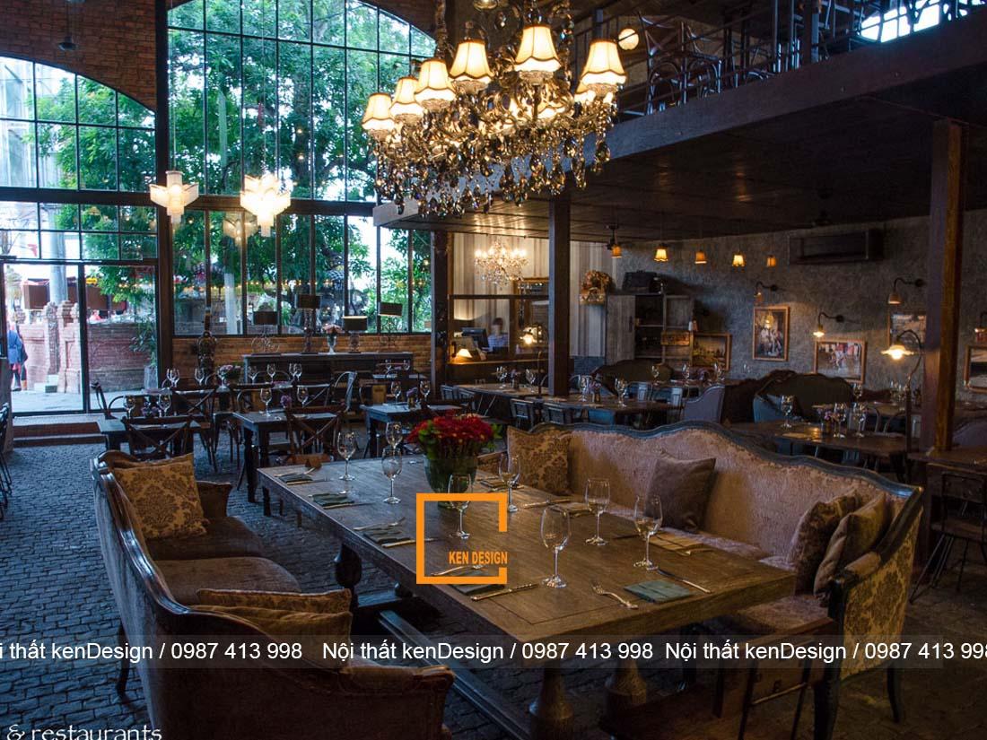 diem danh mot so phong cach thiet ke nha hang an tuong nhat 5 - Điểm danh một số phong cách thiết kế nhà hàng ấn tượng nhất