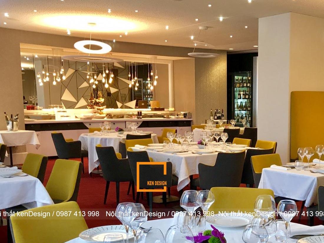 hut khach voi thiet ke nha hang an uong phong cach hien dai 2 - Hút khách với thiết kế nhà hàng ăn uống phong cách hiện đại