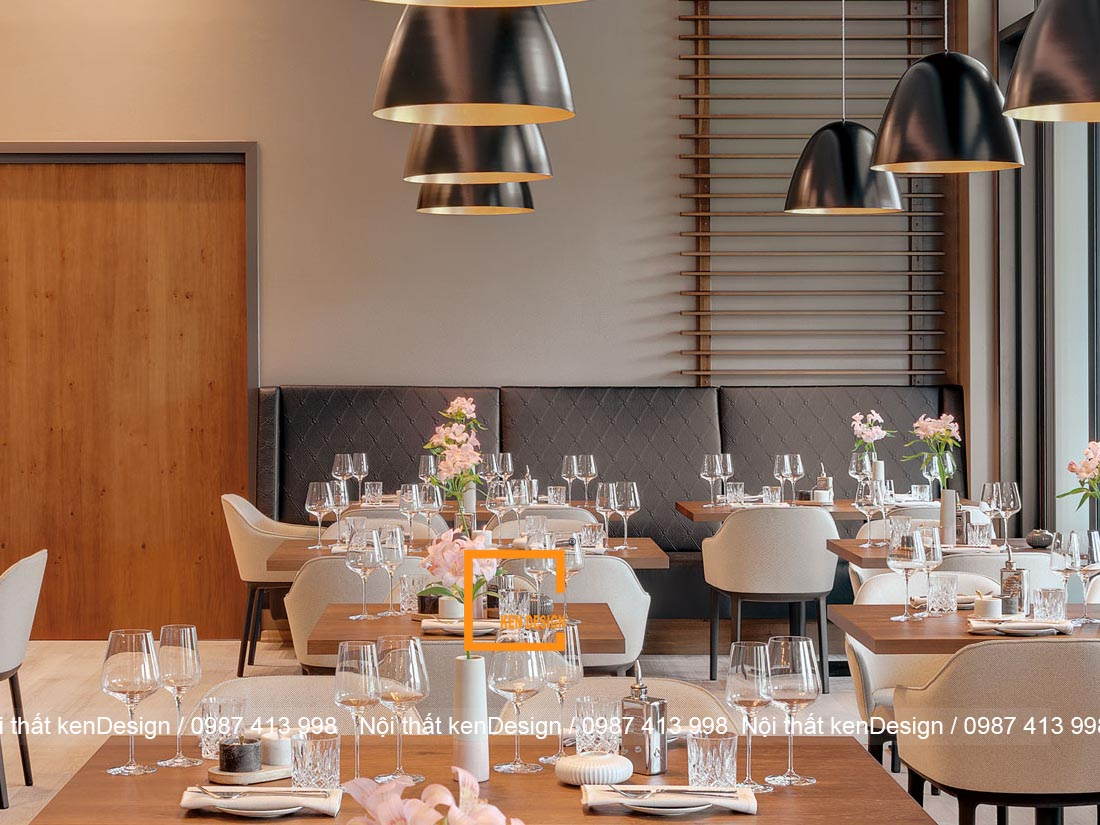 hut khach voi thiet ke nha hang an uong phong cach hien dai 3 - Hút khách với thiết kế nhà hàng ăn uống phong cách hiện đại