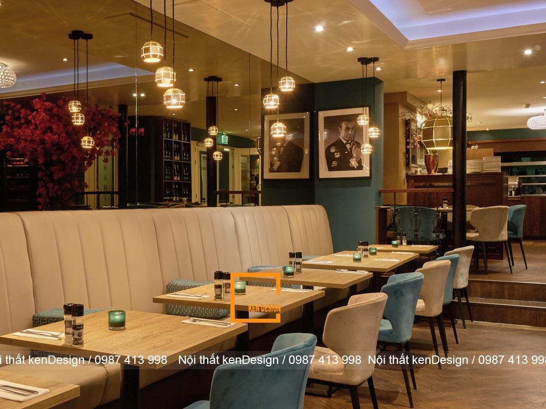 hut khach voi thiet ke nha hang an uong phong cach hien dai 4 - Hút khách với thiết kế nhà hàng ăn uống phong cách hiện đại