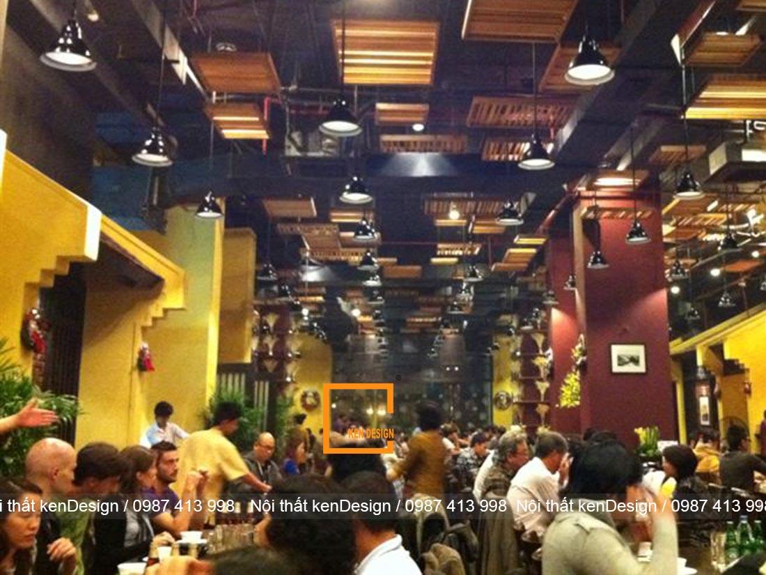 mau thiet ke nha hang ket hop hieu qua kinh doanh gap boi 3 - Mẫu thiết kế nhà hàng kết hợp - Hiệu quả kinh doanh gấp bội