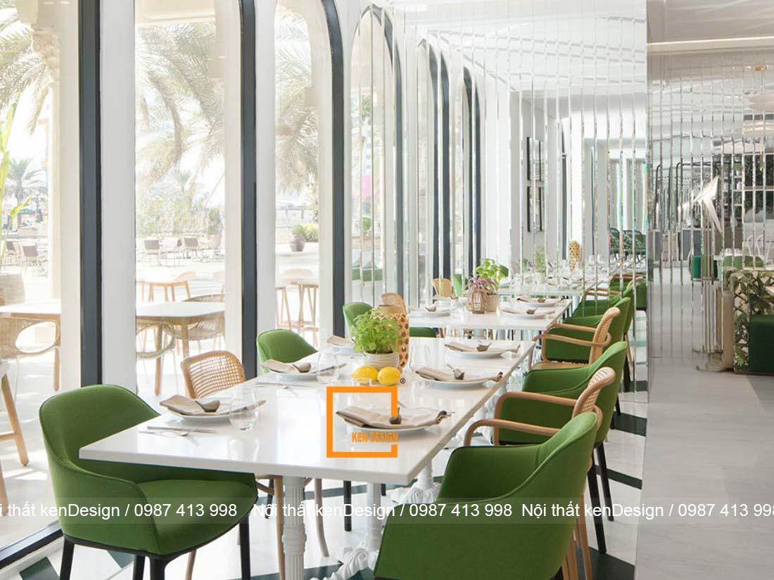 thiet ke nha hang hien dai xu huong cua moi xu huong 2 - Thiết kế nhà hàng hiện đại  - Xu hướng của mọi xu hướng