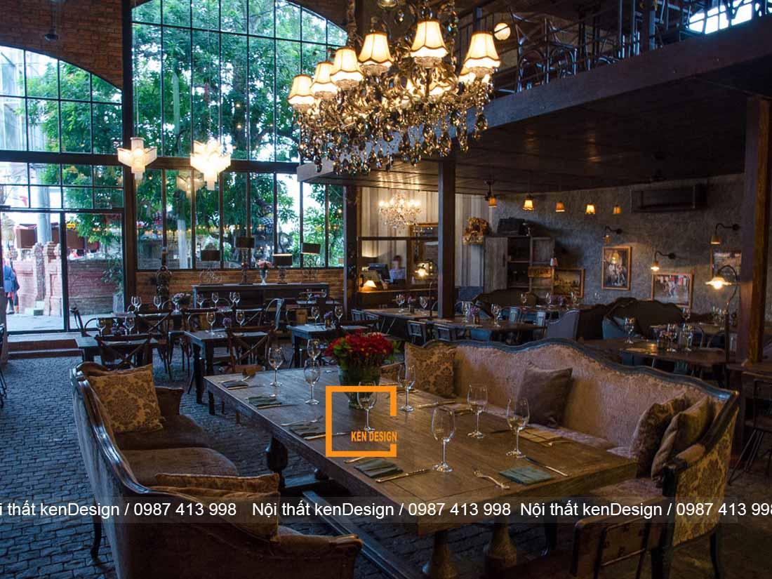 3 phong cach thiet ke nha hang noi bat khong nen bo lo 3 - 3 phong cách thiết kế nhà hàng nổi bật không nên bỏ lỡ