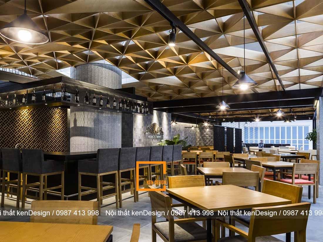 3 phong cach thiet ke nha hang noi bat khong nen bo lo 4 - 3 phong cách thiết kế nhà hàng nổi bật không nên bỏ lỡ