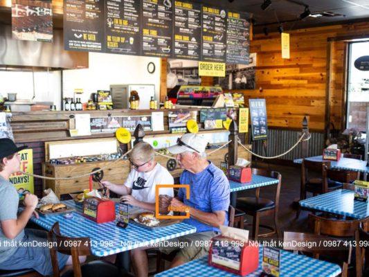 cach thiet ke nha hang fastfood thu hut khach hang hieu qua 3 533x400 - Cách thiết kế nhà hàng Fastfood thu hút khách hàng hiệu quả