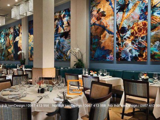cach thiet ke nha hang hai mat tien tan dung toi da khong gian 4 533x400 - Cách thiết kế nhà hàng hai mặt tiền tận dụng tối đa không gian