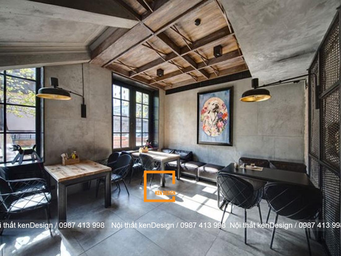 dac trung trong thiet ke nha hang phong cach rustic 2 - Đặc trưng trong thiết kế nhà hàng phong cách Rustic