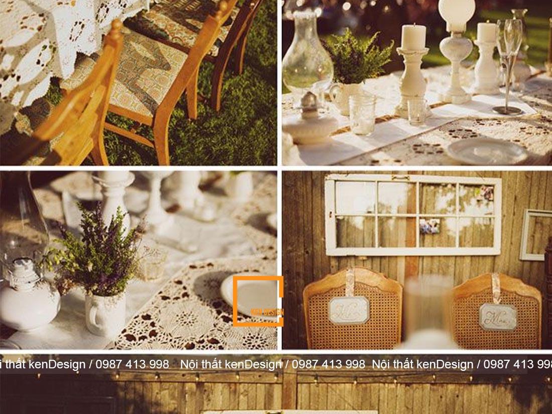dac trung trong thiet ke nha hang phong cach rustic 3 - Đặc trưng trong thiết kế nhà hàng phong cách Rustic