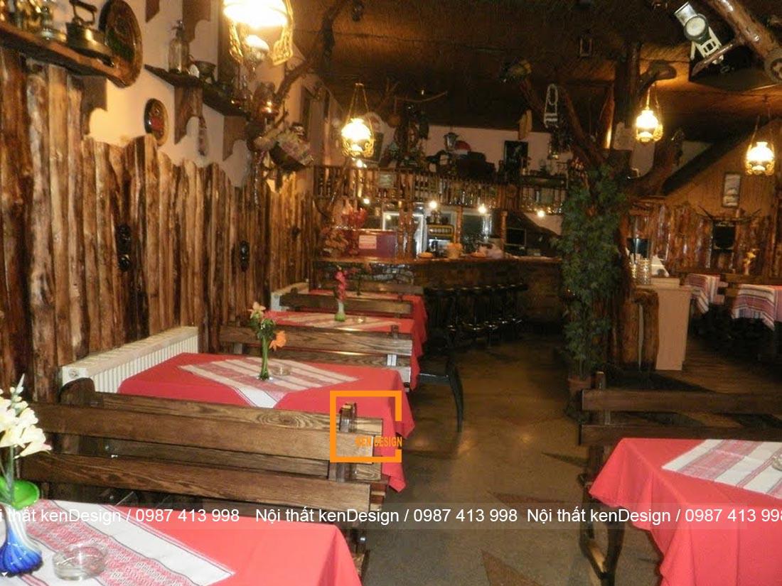 dac trung trong thiet ke nha hang phong cach rustic 6 - Đặc trưng trong thiết kế nhà hàng phong cách Rustic