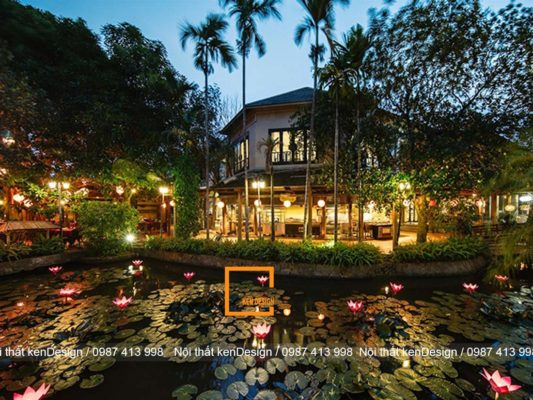 goi y cach thiet ke nha hang san vuon thu hut nhat 3 533x400 - Gợi ý cách thiết kế nhà hàng sân vườn thu hút nhất