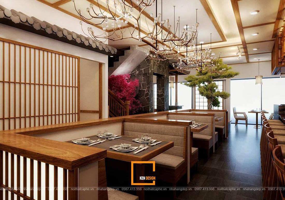 goi y mot so mau thiet ke nha hang kieu nhat cao cap 2 - Gợi ý một số mẫu thiết kế nhà hàng kiểu Nhật cao cấp