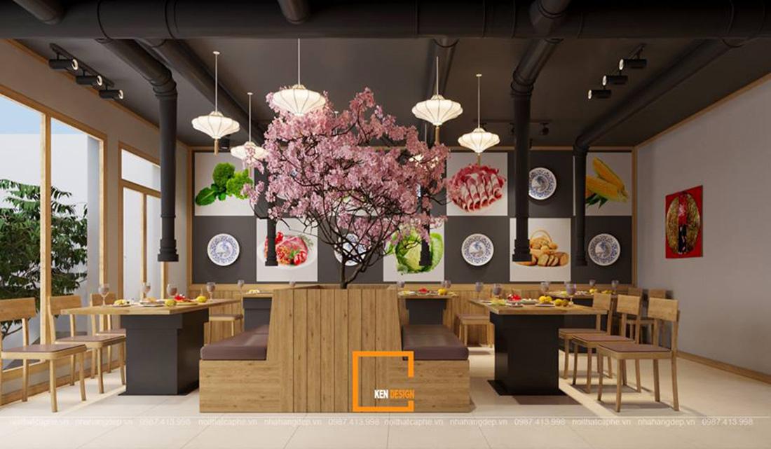 goi y mot so mau thiet ke nha hang kieu nhat cao cap 4 - Gợi ý một số mẫu thiết kế nhà hàng kiểu Nhật cao cấp