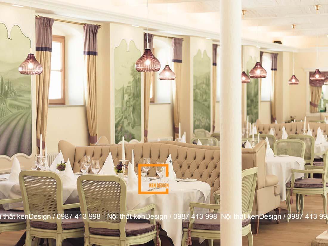 huong dan cach thiet ke noi that nha hang vua nhanh vua dep 1 - Hướng dẫn cách thiết kế nội thất nhà hàng vừa nhanh vừa đẹp