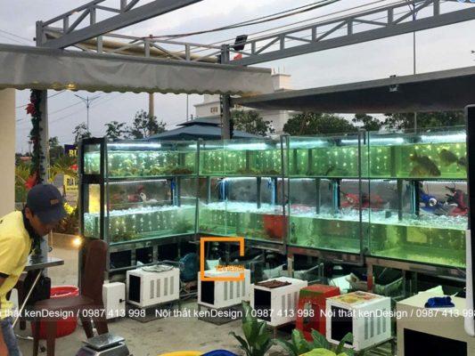 kinh nghiem thiet ke be nha hang hai san hop ly dam bao cong nang 3 533x400 - Kinh nghiệm thiết kế bể nhà hàng hải sản hợp lý, đảm bảo công năng