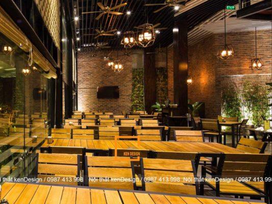 kinh nghiem thiet ke nha hang dien tich han che hieu qua 4 533x400 - Kinh nghiệm thiết kế nhà hàng diện tích hạn chế