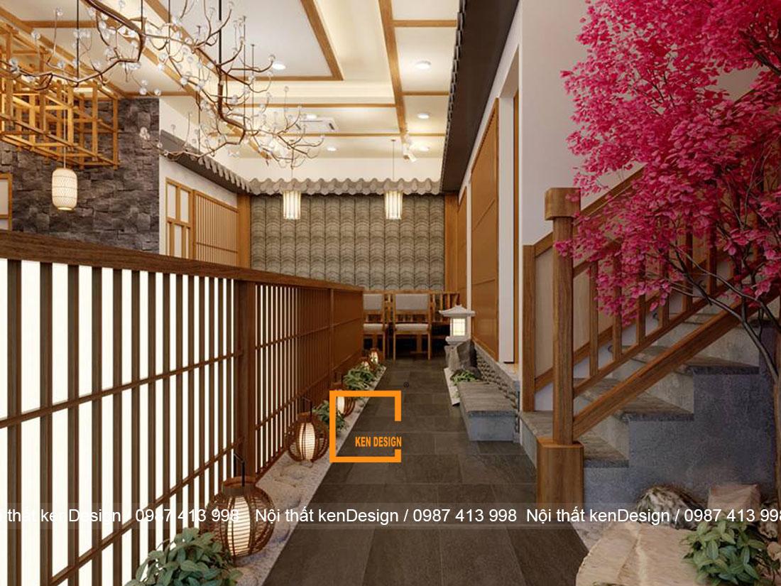 mot nhat ban thu nho trong thiet ke quan hinomaru sushi tai da nang - Thiết kế nhà hàng Sushi phong cách Nhật Bản