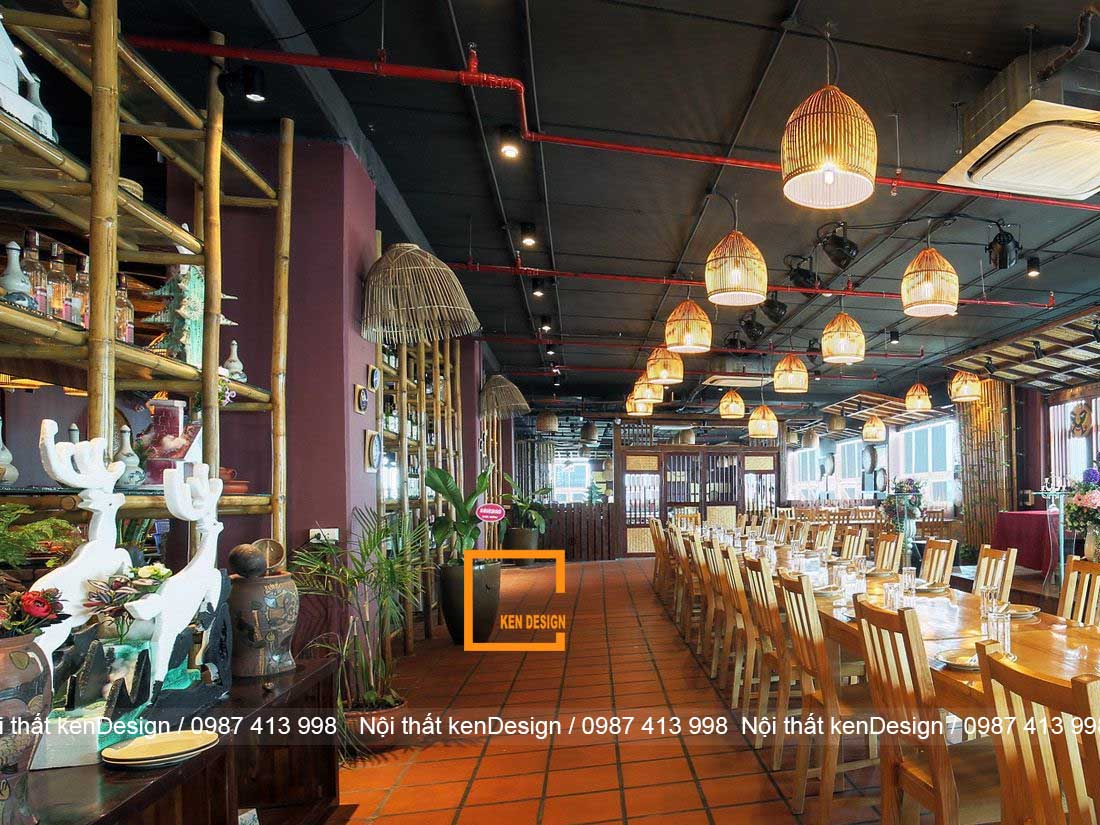 nen thiet ke nha hang chay nhu the nao cho hop ly 2 - Nến thiết kế nhà hàng chay như thế nào cho hợp lý?