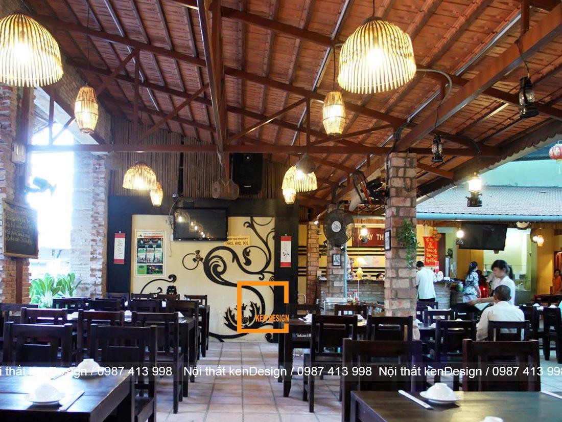 nen thiet ke nha hang chay nhu the nao cho hop ly 3 - Nến thiết kế nhà hàng chay như thế nào cho hợp lý?