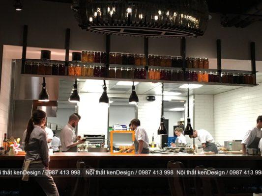 nhung luu y nhat dinh phai nam vung khi thiet ke he thong nha hang 4 533x400 - Những lưu ý nhất định phải nắm vững khi thiết kế hệ thống bếp nhà hàng