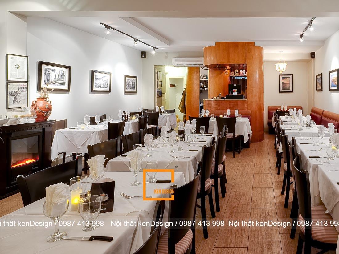 nhung nguyen ly thiet ke thi cong nha hang khong nen bo qua 2 - Những nguyên lý thiết kế thi công nhà hàng không nên bỏ qua