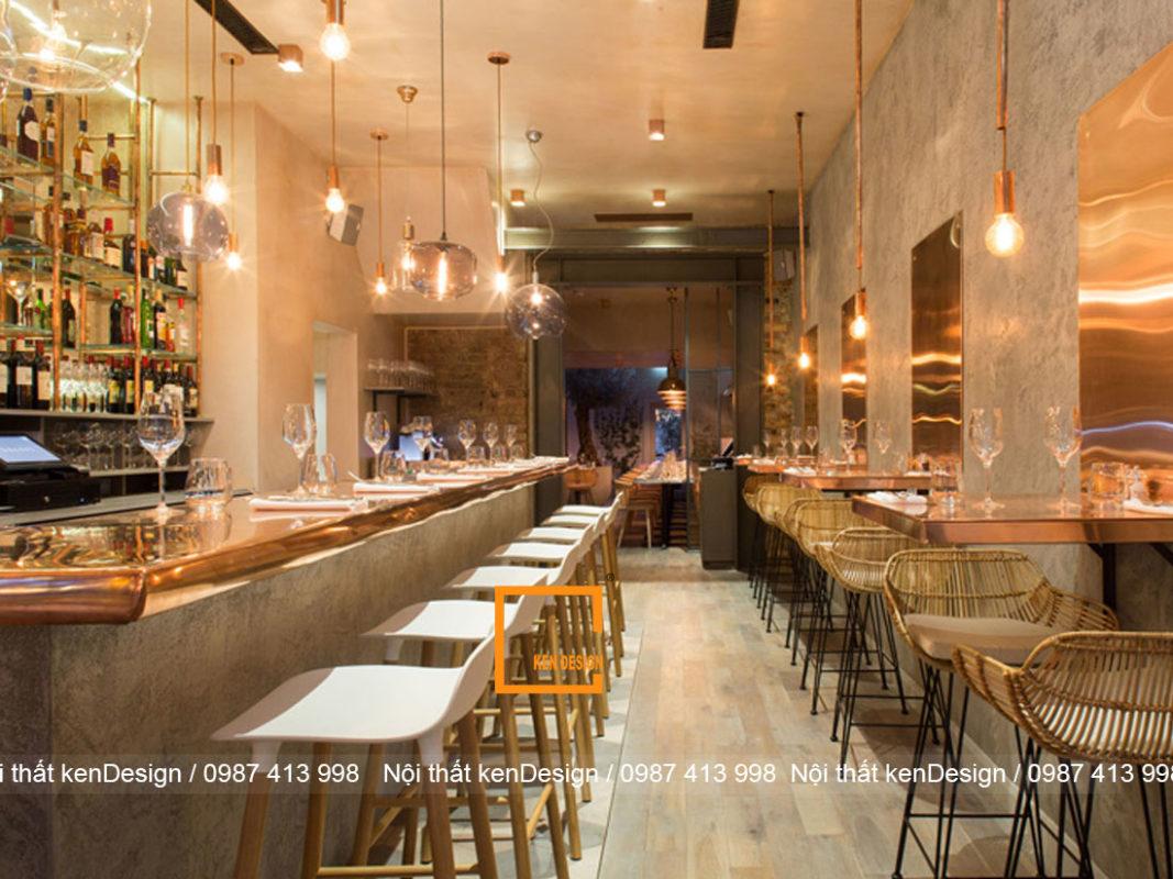 phuong phap hoan hao cho thiet ke nha hang nho dep 3 1067x800 - Phương pháp hoàn hảo cho thiết kế nhà hàng nhỏ đẹp