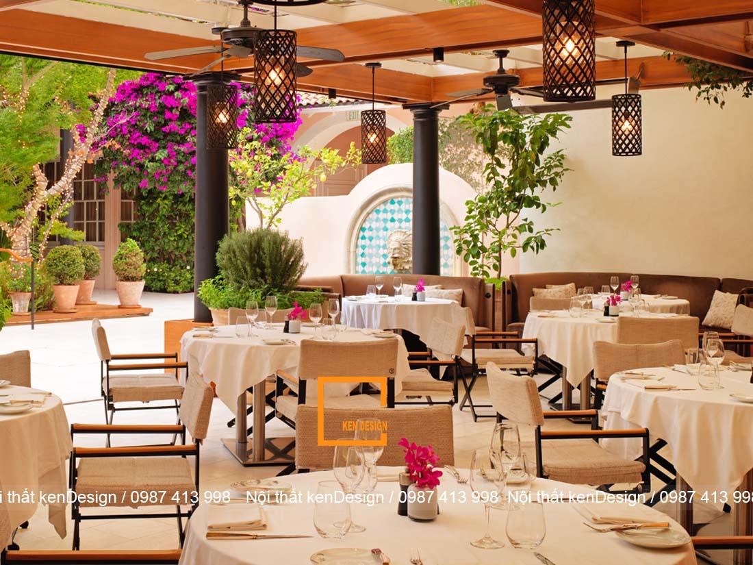 thiet ke nha hang khach san phong cach hien dai tre trung 3 - Thiết kế nhà hàng khách sạn phong cách hiện đại, trẻ trung