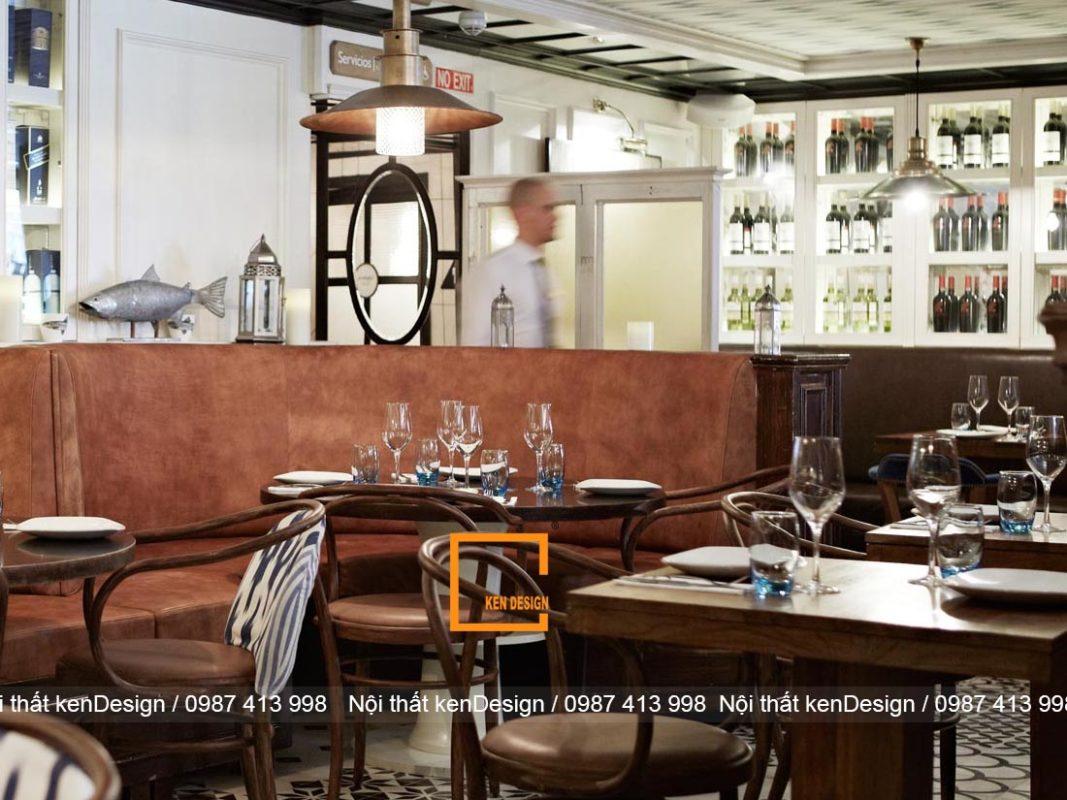 thiet ke nha hang khach san phong cach hien dai tre trung 4 1067x800 - Thiết kế nhà hàng khách sạn phong cách hiện đại, trẻ trung