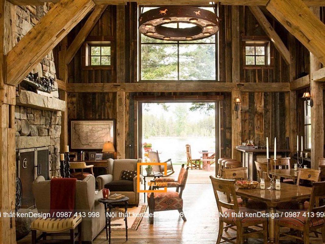 thiet ke nha hang phong cach rustic mang ve dep moc mac gan gui 1 1067x800 - Thiết kế nhà hàng phong cách Rustic mang vẻ đẹp mộc mạc, gần gũi