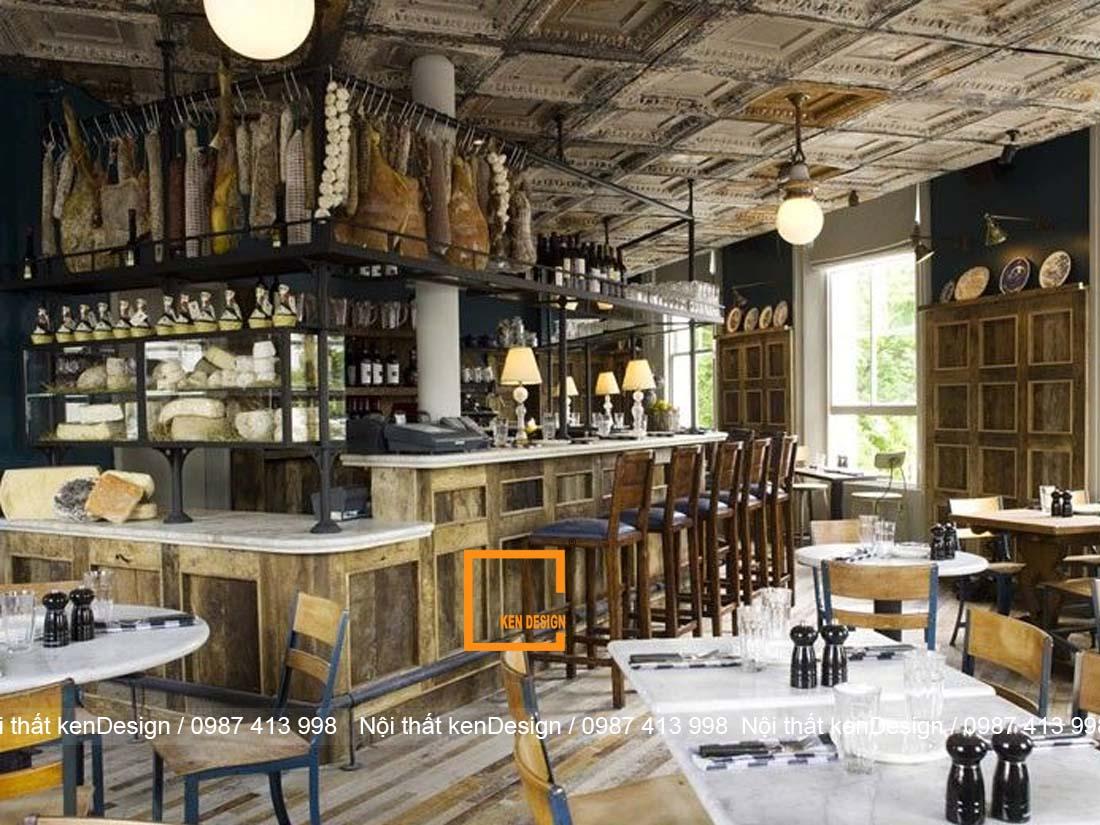 thiet ke nha hang phong cach rustic mang ve dep moc mac gan gui 4 - Thiết kế nhà hàng phong cách Rustic mang vẻ đẹp mộc mạc, gần gũi