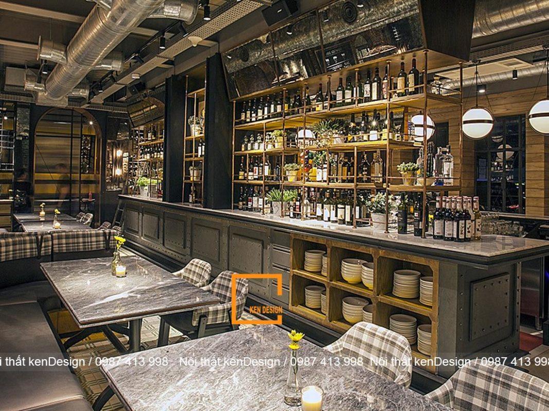 tieu chuan thiet ke nha hang phong cach industrial 2 1067x800 - Tiêu chuẩn thiết kế nhà hàng phong cách industrial