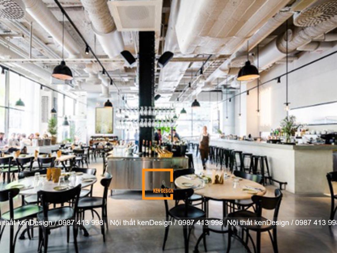 tieu chuan thiet ke nha hang phong cach industrial 4 - Tiêu chuẩn thiết kế nhà hàng phong cách industrial