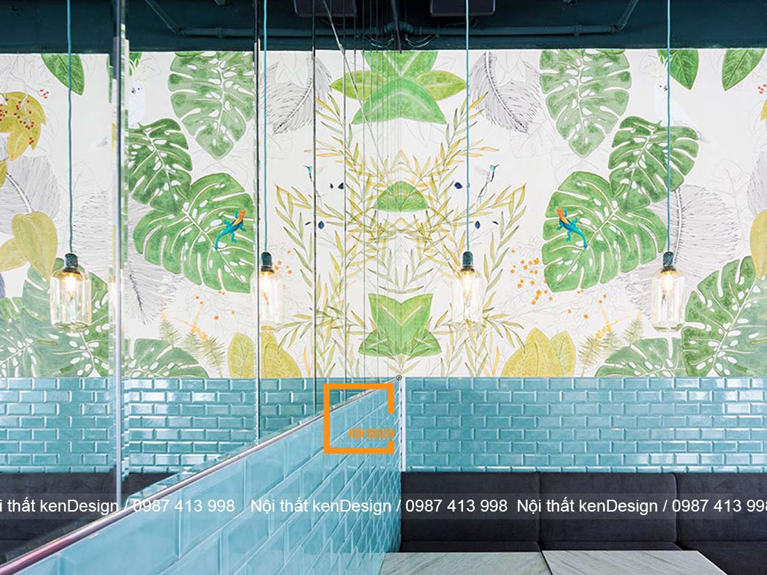 cach trang tri thiet ke nha hang phong cach nhiet doi dep nhat 1 - Cách trang trí thiết kế nhà hàng phong cách nhiệt đới đẹp