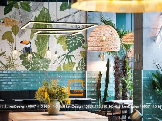 cach trang tri thiet ke nha hang phong cach nhiet doi dep nhat 2 533x400 - Cách trang trí thiết kế nhà hàng phong cách nhiệt đới đẹp
