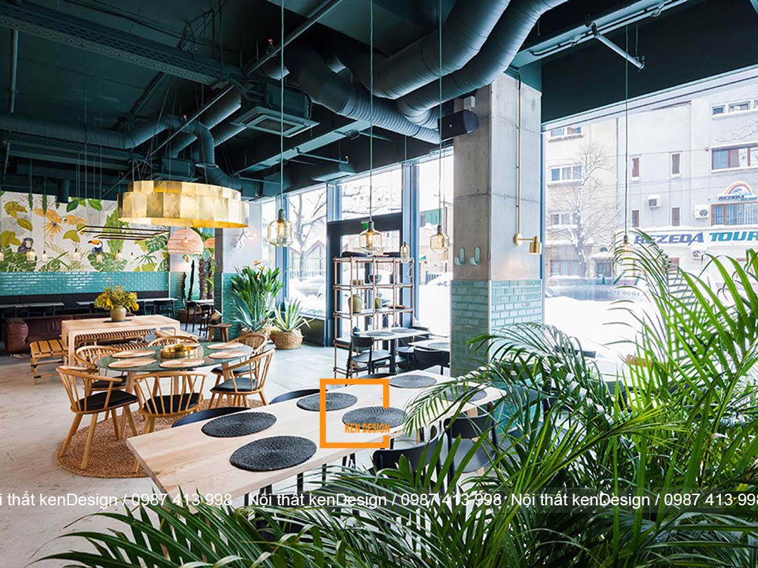 cach trang tri thiet ke nha hang phong cach nhiet doi dep nhat 4 - Cách trang trí thiết kế nhà hàng phong cách nhiệt đới đẹp