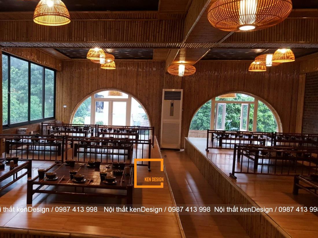 huong dan thi cong nha hang bang tre tiet kiem nhat 4 - Hướng dẫn thi công nhà hàng bằng tre tiết kiệm nhất