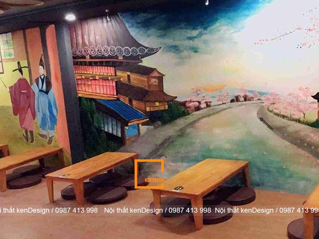 kinh nghiem thiet ke nha hang my cay thu hut khach hang 3 - Kinh nghiệm thiết kế nhà hàng mỳ cay thu hút khách hàng