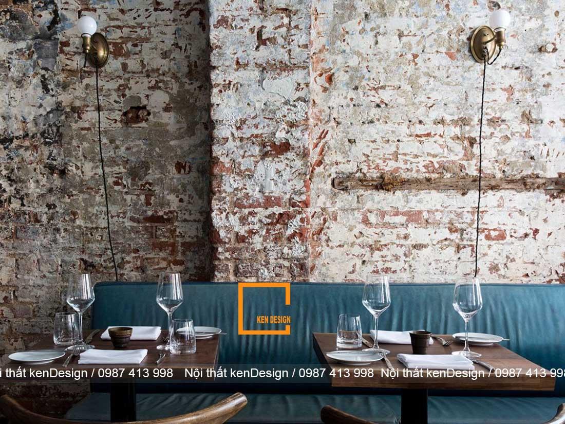 kinh nghiem thiet ke nha hang phong cach rustic 4 - Kinh nghiệm thiết kế nhà hàng phong cách Rustic
