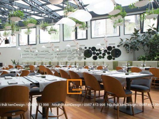luu y khi thiet ke nha hang phong cach hien dai 4 533x400 - Lưu ý khi thiết kế nhà hàng phong cách hiện đại