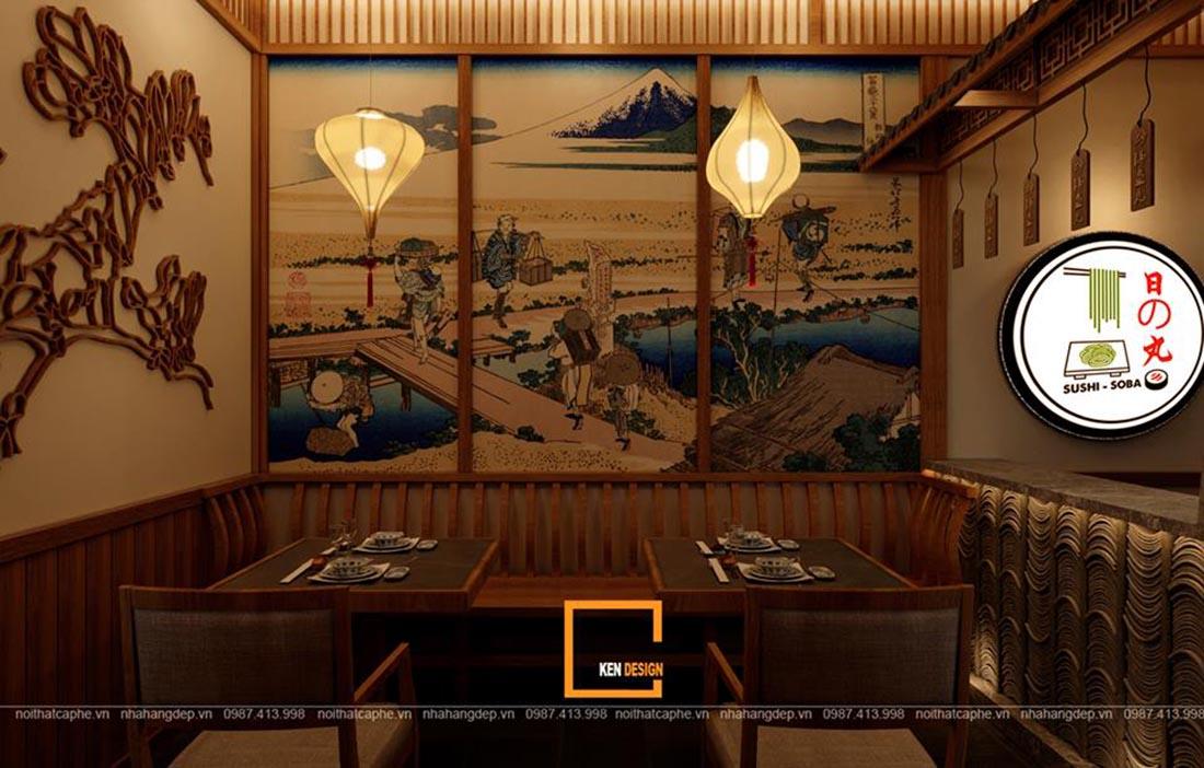 mau thiet ke nha hang an uong phong cach nhat ban tai da nang 5 - Thiết kế nhà hàng ăn uống phong cách Nhật Bản tại Đà Nẵng
