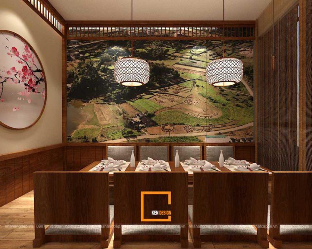 mau thiet ke nha hang an uong phong cach nhat ban tai da nang 6 1000x800 - Thiết kế nhà hàng ăn uống phong cách Nhật Bản tại Đà Nẵng