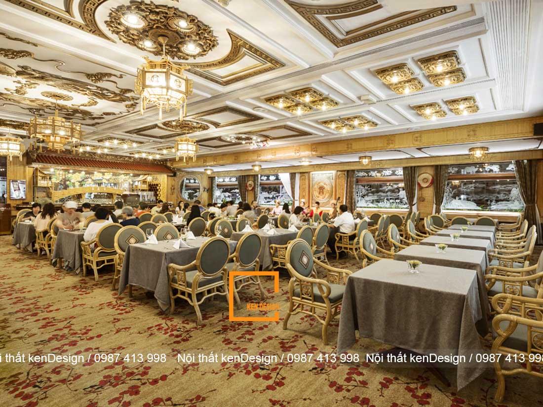 mau thiet ke nha hang tai khach san dep khong nen bo qua 1 - Mẫu thiết kế nhà hàng tại khách sạn đẹp không nên bỏ quả