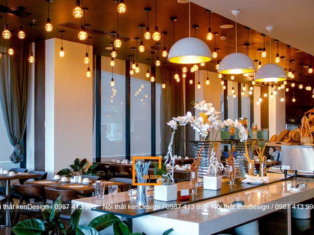 mau thiet ke nha hang tai khach san dep khong nen bo qua 4 1067x800 - Mẫu thiết kế nhà hàng tại khách sạn đẹp không nên bỏ quả