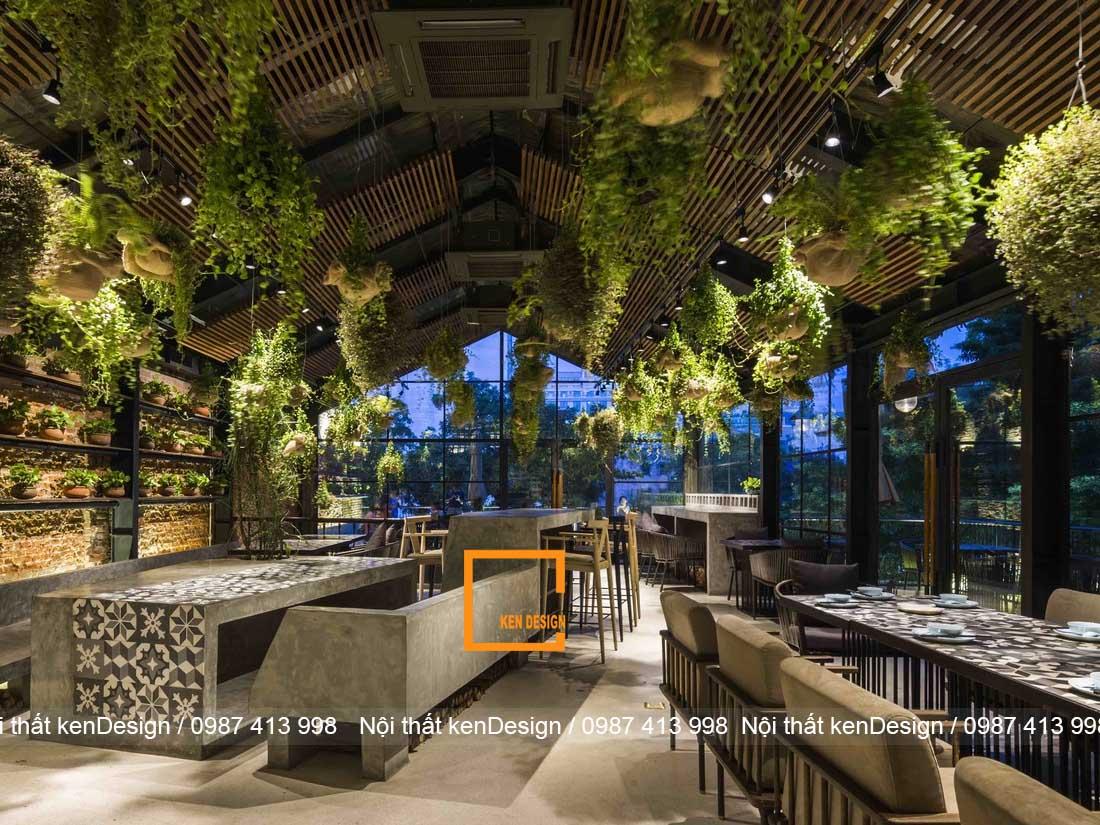 ngam nhin 3 thiet ke nha hang chay dep noi bat tai ha noi 2 - Ngắm nhìn 3 thiết kế nhà hàng chay đẹp, nổi bật tại Hà Nội